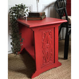 Red Angus | Furniture Paint | The Vintage Bird - Signed Jaclyn