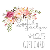 Gift Card - Signed Jaclyn