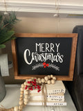 Merry Christmas Sign | Signed Jaclyn - Signed Jaclyn
