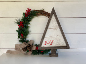 Rustic Timber Christmas Tree | Signed Jaclyn - Signed Jaclyn