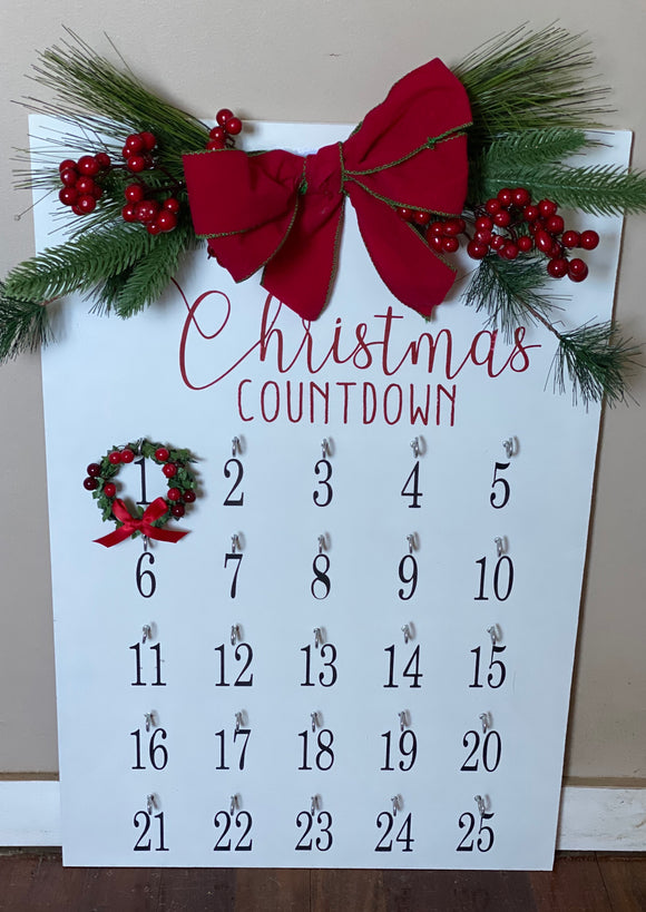 Christmas Countdown | Signed Jaclyn - Signed Jaclyn