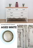 Aged White | Canterbury Blue - Signed Jaclyn