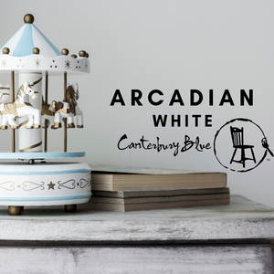 Arcadian White | Canterbury Blue - Signed Jaclyn