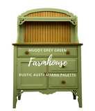 Farmhouse Green | Canterbury Blue - Signed Jaclyn