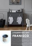 Fransico Grey | Canterbury Blue - Signed Jaclyn