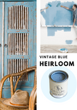Heirloom Blue | Canterbury Blue - Signed Jaclyn