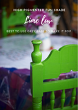 Lime Luv | Canterbury Blue - Signed Jaclyn