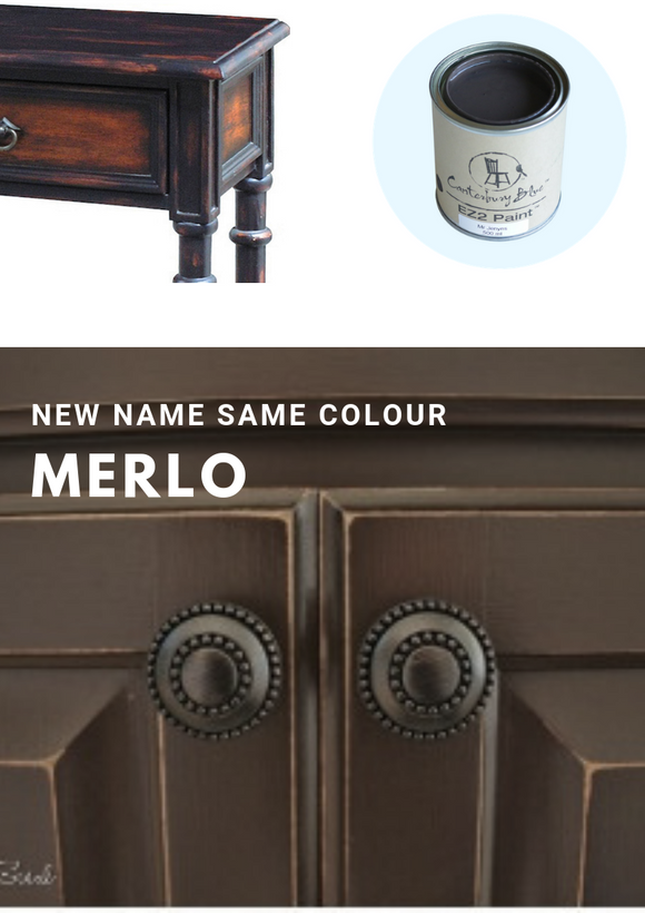 Merlo Brown | Canterbury Blue - Signed Jaclyn