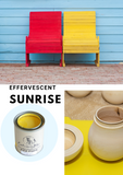 Sunrise Yellow | Canterbury Blue - Signed Jaclyn