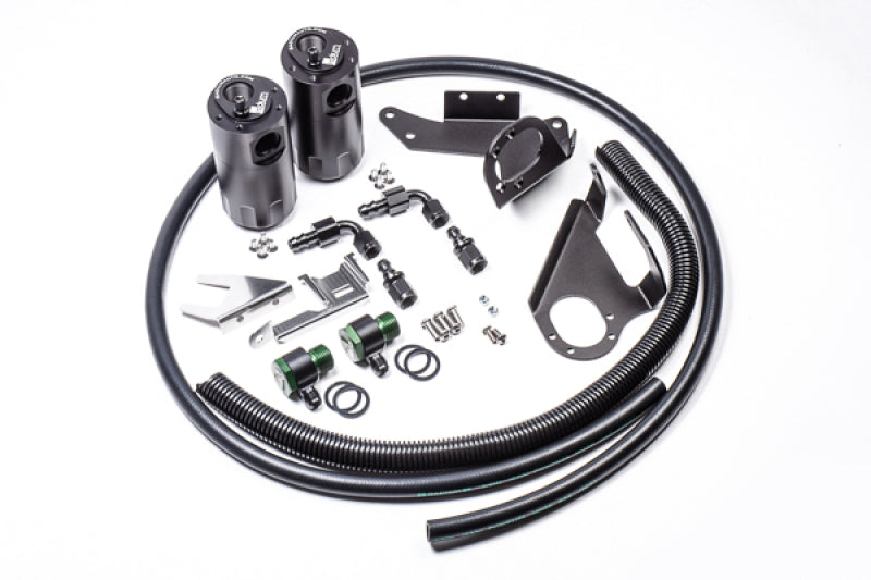 Radium Engineering Nissan 370Z Dual Catch Can Kit
