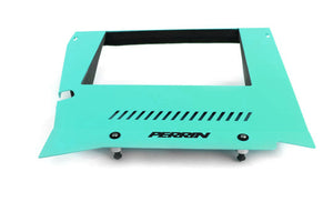 Perrin 15-19 Subaru WRX Engine Cover Kit - Hyper Teal