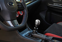 Load image into Gallery viewer, Perrin 15+ WRX w/ Rattle Fix Barrel 1.85in Brushed Stainless Steel Shift Knob