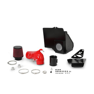 Mishimoto 2015+ Ford Mustang GT Performance Air Intake - Red - Honey Badger Auto Mall