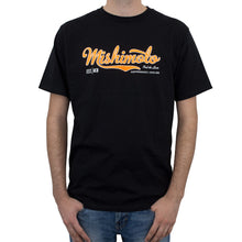 Load image into Gallery viewer, Mishimoto Men's Athletic Script Black T-Shirt - Medium - Honey Badger Auto Mall