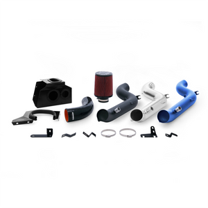 Mishimoto 2016 Ford Focus RS 2.3L Performance Air Intake Kit - Wrinkle Nitrous Blue - Honey Badger Auto Mall