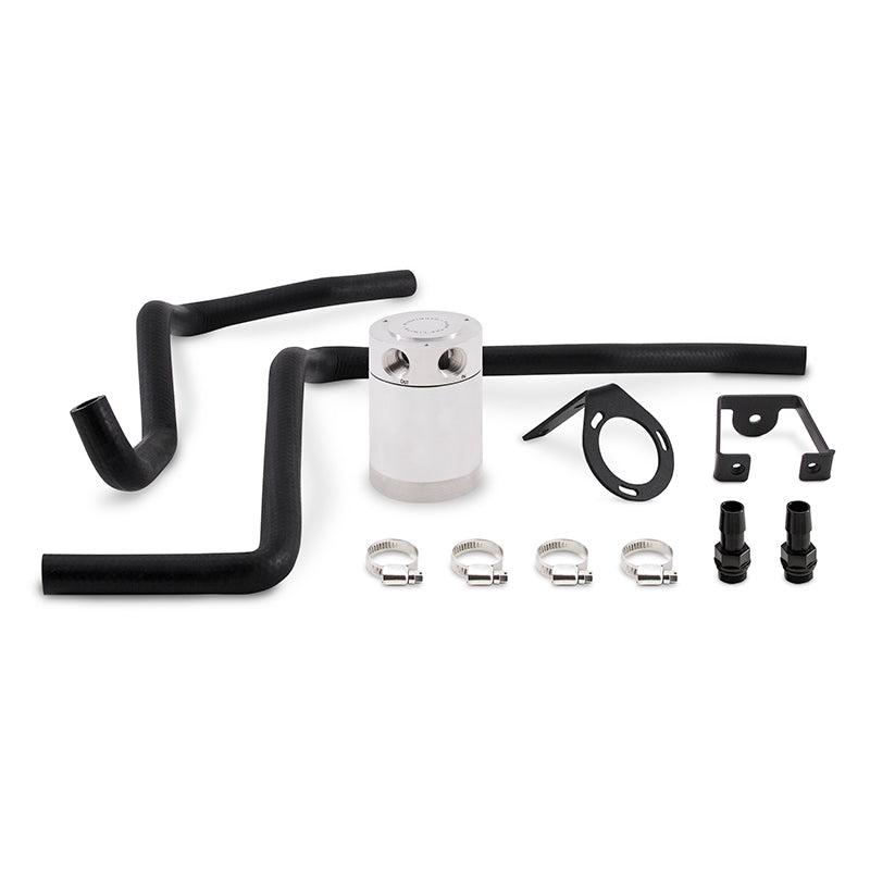 Mishimoto 12-14 Dodge Charger / 12-14 Chrysler 300C 6.4L Direct Fit Oil Catch Can Kit - Polished