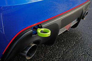Perrin Subaru BRZ/Scion FR-S/Toyota 86 Tow Hook Kit (Rear) - Neon Yellow