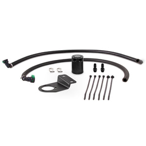 Mishimoto 19+ Ford Ranger Baffled Oil Catch Can Kit - Black