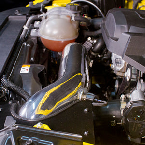 Mishimoto 2015 Ford Mustang Ecoboost Performance Intake - Polish - Honey Badger Auto Mall
