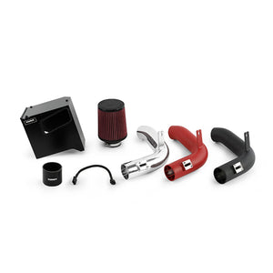 Mishimoto 15-16 Subaru WRX Performance Race Air Intake Kit - Wrinkle Red - Honey Badger Auto Mall