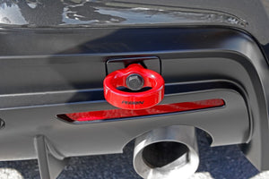 Perrin 2020 Toyota Supra Tow Hook Kit (Rear) - Red