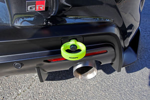 Perrin 2020 Toyota Supra Tow Hook Kit (Rear) - Neon Yellow