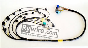 Rywire Honda S2000 AP1/AP2 (Early) Mil-Spec Engine Harness w/OEM Coils/Injector/ECU Plugs