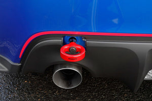 Perrin Subaru BRZ/Scion FR-S/Toyota 86 Tow Hook Kit (Rear) - Red