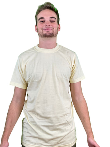 Luxury Leaf™️ Plain Hemp Tee
