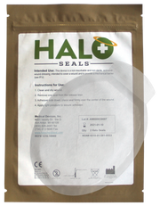 "Halo Seal Two Pack (Flat Pack) 10.75"" x 7.5""  Case Qty 200"