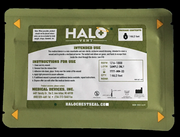 "Halo Vent IFAK Single Pack (1 Halo Vent) 7"" x  5"" Case Only Qty 200"