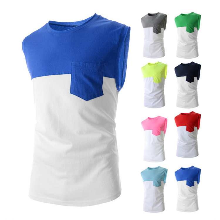 Colorful Sleeveless T-Shirt