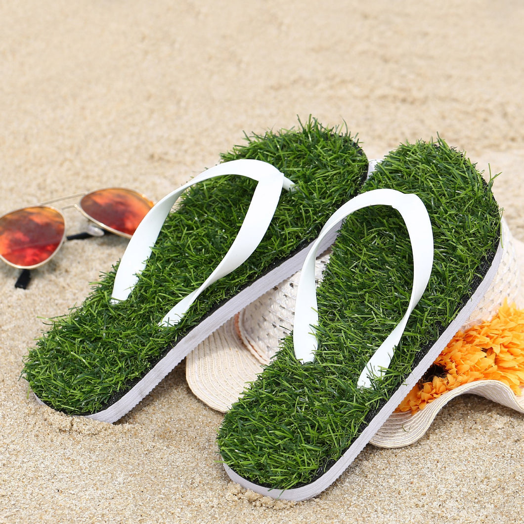Artificial Grass Flip Flop