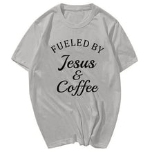 Load image into Gallery viewer, Fueled By Jesus T-Shirt