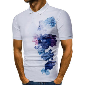 Ink Painting Polo T-Shirt