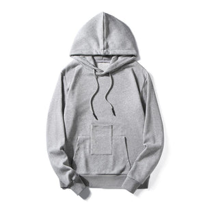 Basic Mens Hoodie With Phone Pocket
