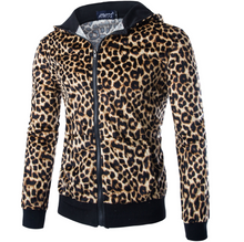 Load image into Gallery viewer, Men's Leopard Hoodie