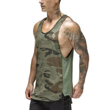 Load image into Gallery viewer, Casual Loose Bodybuilding Vest Tops