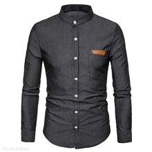 Load image into Gallery viewer, Cotton Blended Mens Shirt 4Colors