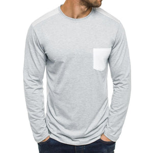Shoulder Stitching Long Sleeve 3 Colors