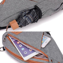 Load image into Gallery viewer, Large Capacity Chest Bag Cross Body Messenger Bag