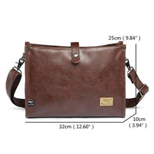 Load image into Gallery viewer, Vintage Casual Large Capacity Messenger Bag
