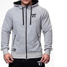 Load image into Gallery viewer, Sports Training Zipper Hooded   Sweater