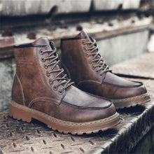 Load image into Gallery viewer, Stylish New Arrival Solid Color High Tube Men Martin Boots Shoes