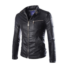Load image into Gallery viewer, Mens New Fashion Leather Jacket