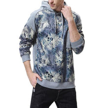 Load image into Gallery viewer, Casual Fashion Loose Print Long Sleeve Men Sport Hoodie