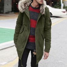 Load image into Gallery viewer, Casual Winter Plain Packets Zipper Jacket Coat