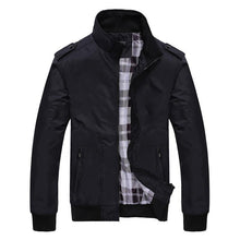 Load image into Gallery viewer, Casual Lapel Collar Plain Sport Slim Jacket