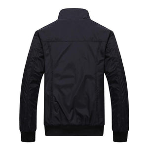 Casual Lapel Collar Plain Sport Slim Jacket