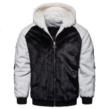 Load image into Gallery viewer, Fashion Split  Joint Floss Zipper Keep Warm Coat